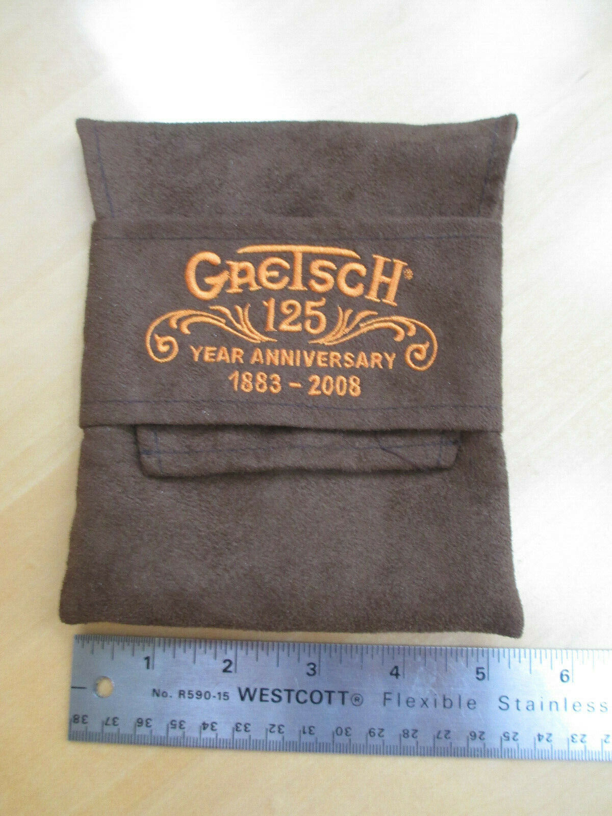 GRETSCH 125th ANNIVERSARY BAG in FAKE SUEDE - GUITAR CASE CANDY - LARGE