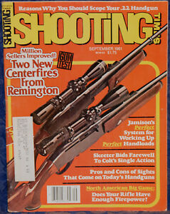 Details about Magazine SHOOTING TIMES Sep 1981 STEYR-MANNLICHER Model L   243 Bolt-Action RIFLE