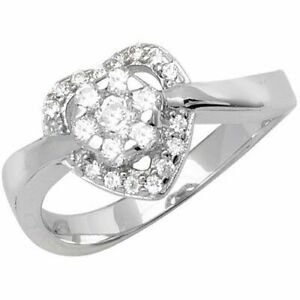 Sterling Silver Ladies Ring New