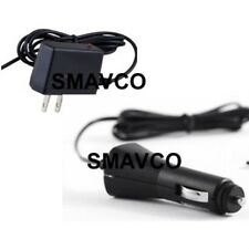 Car Charger + World 100-240V Travel Charger Nintendo Dsi *USA SELLER FREE SHIP*