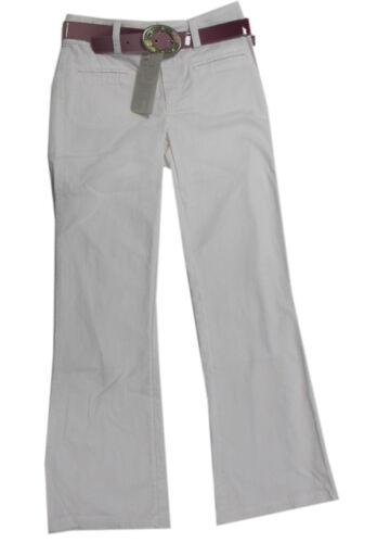 PJE Pampolina pantaloni pantaloni lunghi con cintura bianco ragazza Estate Pantaloni Tg 158