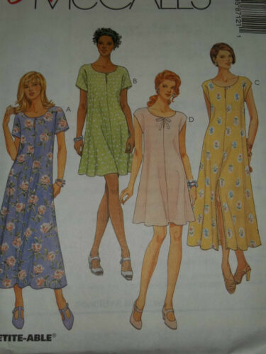 LADIES SUMMER KEYHOLE OPENING DRESS PATTERN 4-14FF UNCIRCULATED McCALL/'S #8712