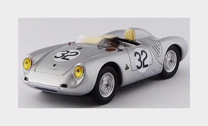 Porsche 550Rs Spider  32 Le Mans 1958 Godin De Beaufort Linge BEST 1 43 BE9695