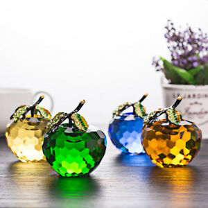 60mm-Crystal-Glass-Apple-Paperweight-Unique-Home-Decorations-Lady-Wedding-Gifts