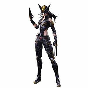 Square Enix Marvel Univers Variante Jeu Arts Kai X-men X-23 Figurine Articulée F