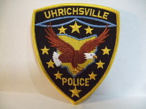 POLICE PATCH LORDSTOWN OHIO