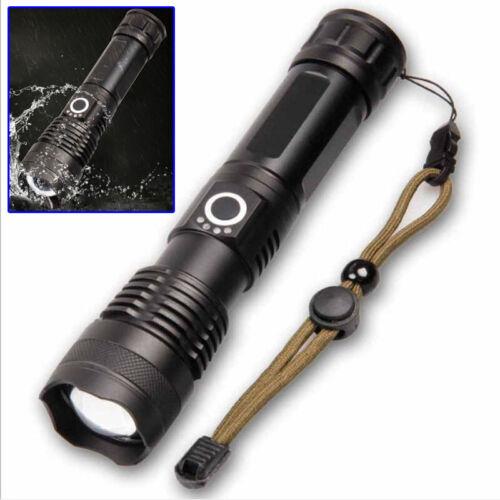 Lumen P70//50 Stärkste Led Taschenlampe Usb Zoom 26650 USB Taschenlampe