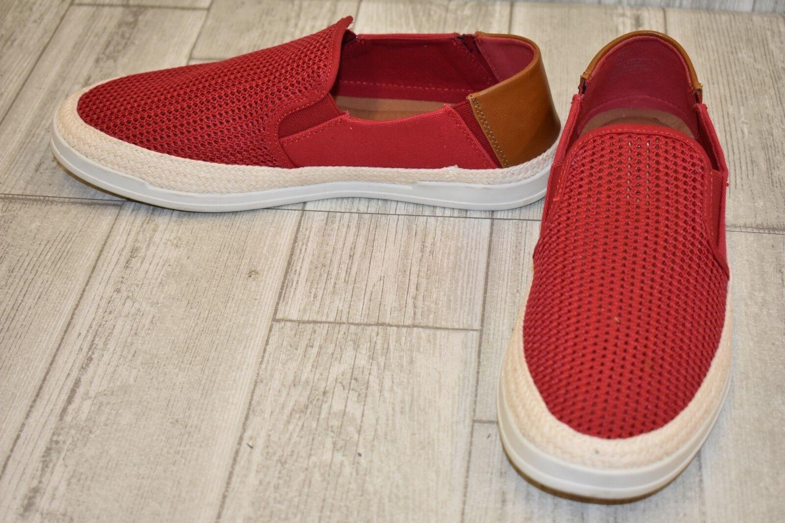 Steve Madden Surfari Surfari Surfari Mesh Slip-On Sneakers, Men's Size 10M, Red cd1f31