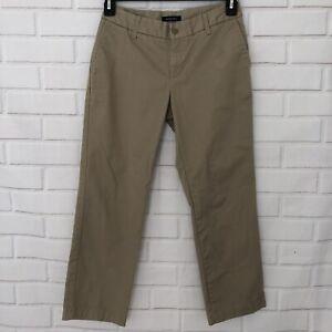 Lands-039-End-Misses-Size-5-Beige-Khaki-Cropped-Capri-Pants-Career