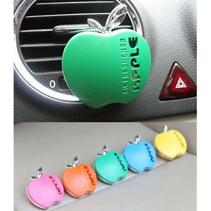 New-Shape-Car-Air-Conditioning-Vent-Perfume-Air-Freshener-Fragrance-JR