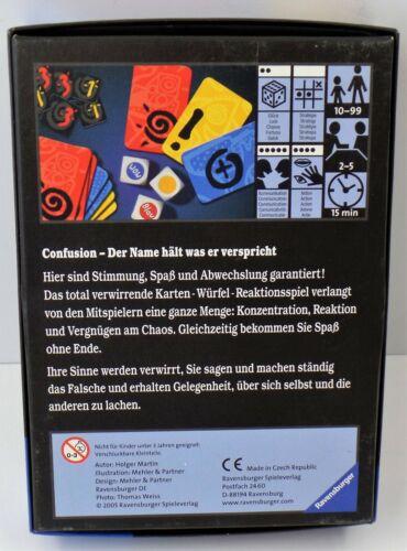 Die totale Verwirrung der Sinne confusion Ravensburg