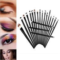 Pro Makeup Set Kit 20pcs Eyeshadow Eyebrow Eyeliner Lip Cosmetic Soft Brushes CB