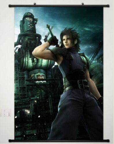 Home Decor Japan Anime Wall poster Scroll Final Fantasy VII Sephiroth Cloud  038