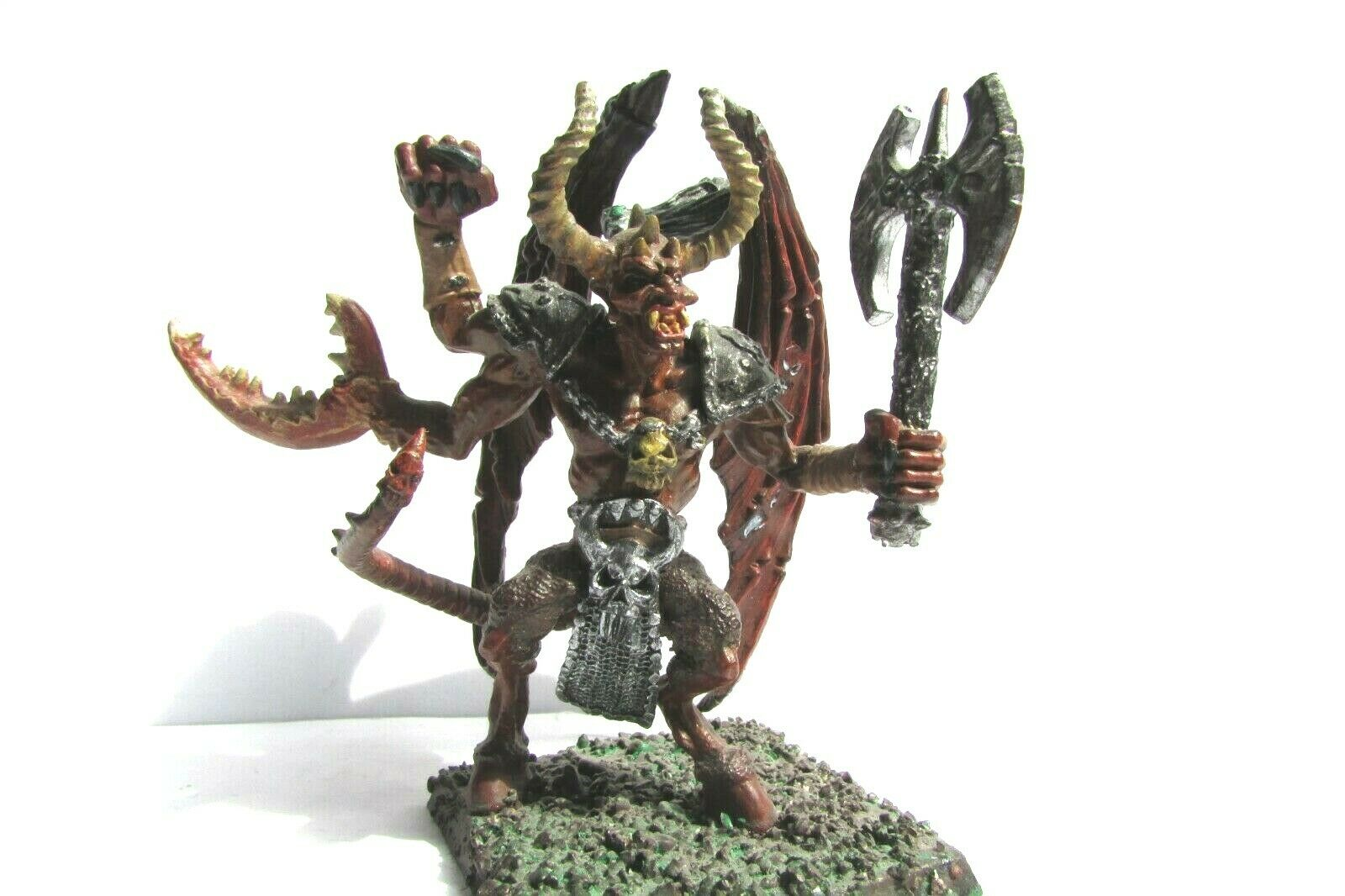 Fuera de imprenta ciudadela Warhammer metal caos demonios Daemon Prince