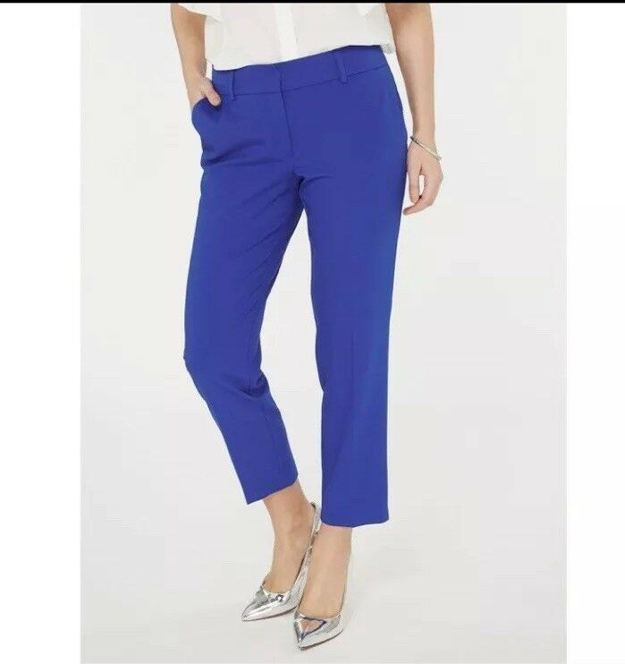 Royal bluee Pants Size 14 By Dgoldthy Perkins Ankle Grazers