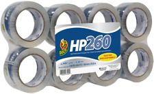 - 2 Pack Duck HP260 Packing Tape Refill 1067839 Clear 8 Rolls 1.88 Inch x 60 Yard