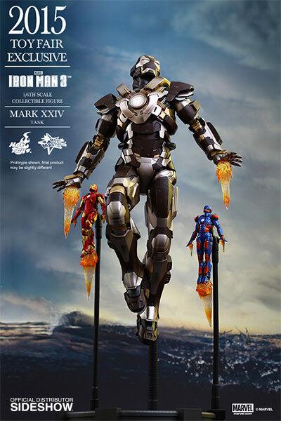 IRON MAN MARK XXIV  Mark 24  TANK SPECIAL EDITION 1/6 Action Figure 12  HOT TOYS