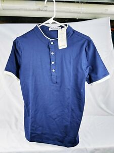 147444fdf907 KUYIGO Men's Casual Slim Fit Short Sleeve Henley T-Shirts Cotton ...