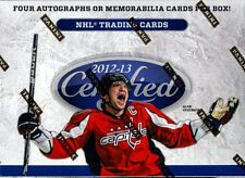 2012/13 PANINI CERTIFIED HOCKEY HOBBY BOX BLOWOUT CARDS
