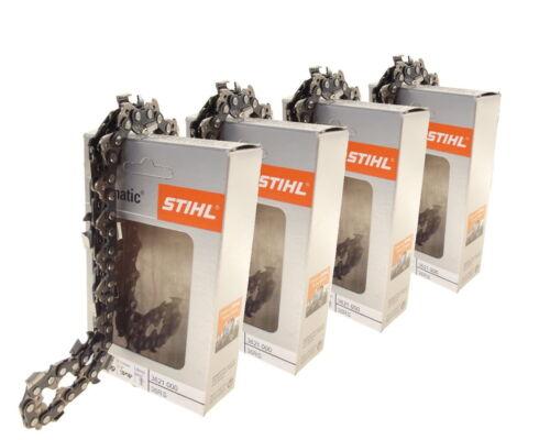 4x40cm Stihl Rapid Super cadena para Stihl 036 motosierra sierra cadena 3//8 1,6