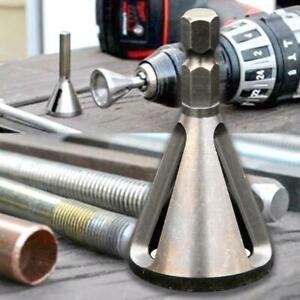 Deburring External Chamfer Drill Bit Hexagon Shank Drilling Tool Burr Remov  NEW