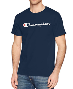 Original-Champion-Classic-Script-Logo-T-Shirt-S-2XL