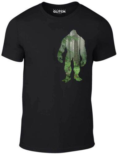 Reality Glitch Woodland Bigfoot T shirt