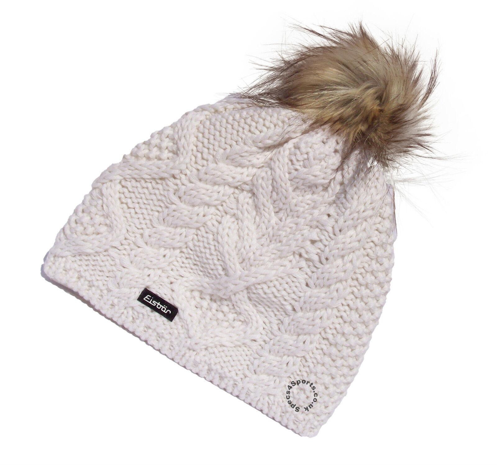 Eisbar Mirella LUX MU austriaca Invernali Finta Pelliccia SPORT POMPOM SPORT Pelliccia SCI cappello   GRATIS UK P+P 3f42ea