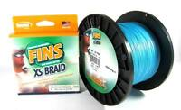 Fins Xs Spectra Braided Fishing Line Extra Smooth 1500 Yards-pick Your Line Test