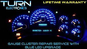 2004 chevy tahoe gauge cluster not working
