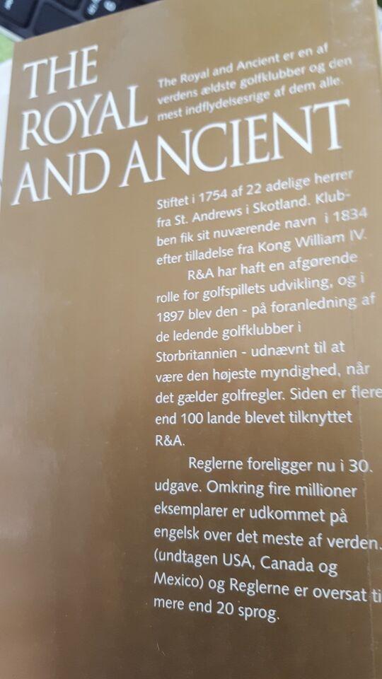 GOLF REGLER I TEKST OG BILLEDER 2004-2007, DGU, emne: hobby