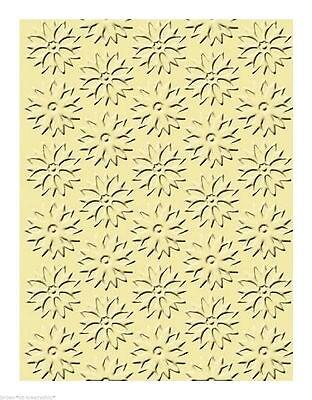 "Prägefolder Embossing Schablone ~ Folder ~ ""Spring Flowers"" ~ Stencils ~ NEU"