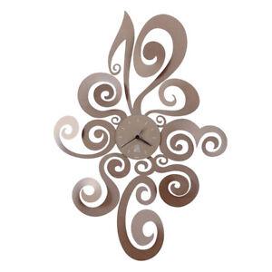 arti e mestieri orologio da parete noemi in metallo e