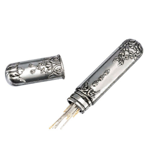 Stainless Steel Embroidery Scissors Thread Cutter Thimble Awl Set for DIY Sewing