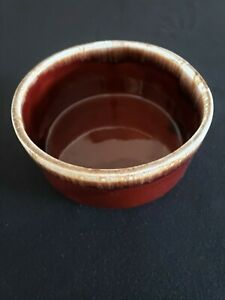 Vintage McCoy Brown Drip Glaze Straight Edge Bowl - 7058 -7""