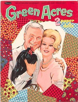 VINTAGE 1967 GREEN ACRES PAPER DOLLS ~NICE LASER REPRODUCTION~ORIG SIZE UNCUT