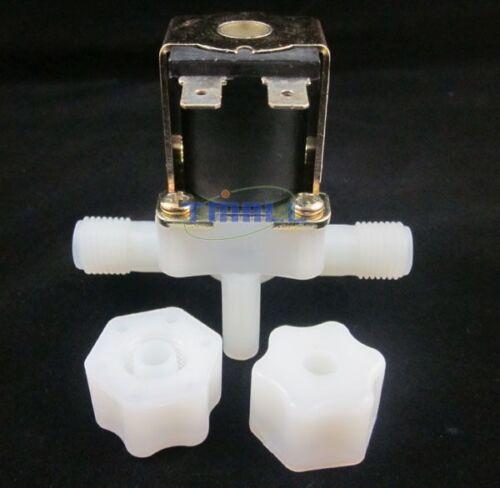 """G1//4/"""" Water Flow Control LCD Display+Flow Sensor Meter+Solenoid Valve Gauge New"""