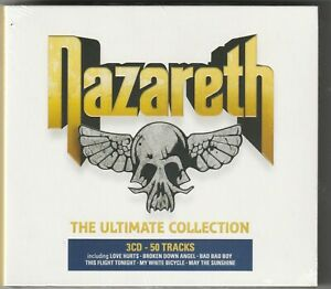Nazareth - The Ultimate Collection  3CD  (BMG 2020)   NEW / SEALED