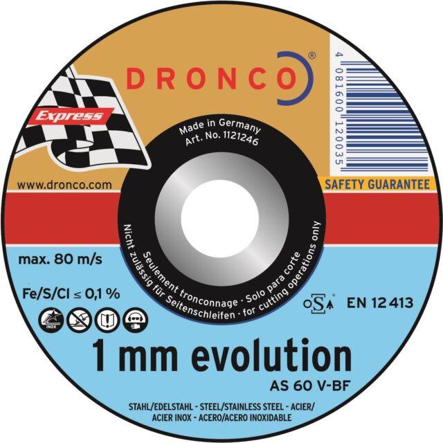 5 Discos Separación 115 x 1,0 x 22,2, como 60V, Disco Separador