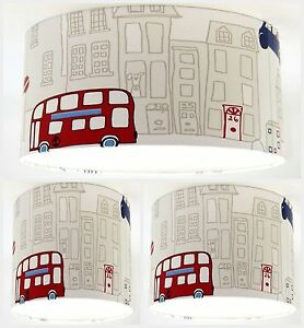 Image Is Loading Lampshade Handmade With Opera Motor Mania Blue Wallpaper