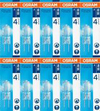 10x OSRAM penna Socket Lampada Halostar Starlite 64405s g4 12v 5w 2700k LAMPADA ALOGENA