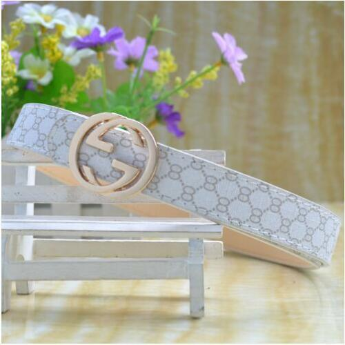 New Fashion Casual Children Faux Leather Adjustable Belts Wholesale for Girls