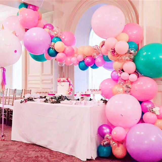 5m Balloon Chain Tape Arch Connect Strip for Wedding Birthday Party Decor