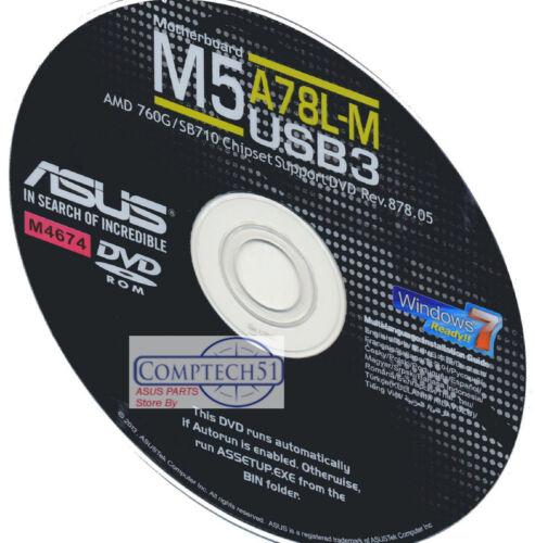 ASUS M5A78L-M USB3 MOTHERBOARD AUTO INSTALL DRIVERS M4674