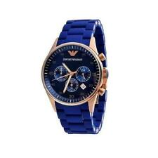 Emporio Armani Ar 5890 Blue Sportivo Chronograph Wrist Watch for Men