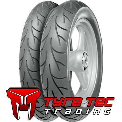 100//90-19 57H /& 120//90-18 65H Continental CONTI GO Front /& Rear Motorcycle Tyres