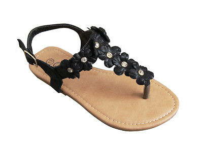 New Summer Fashion Girls Cross Toddler Zipper Buckle Sandals Shoes size 5-10