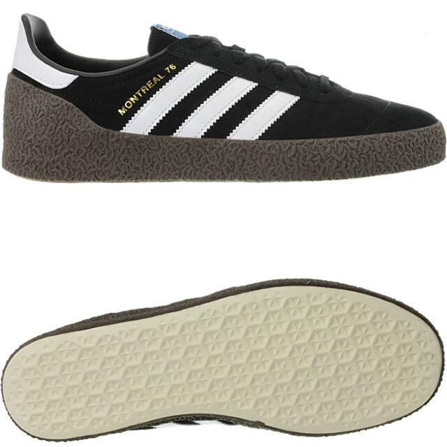 adidas Montreal 76 SNEAKERS Black White Brown CQ2176 42 Black for ... 15f8b660e3cc