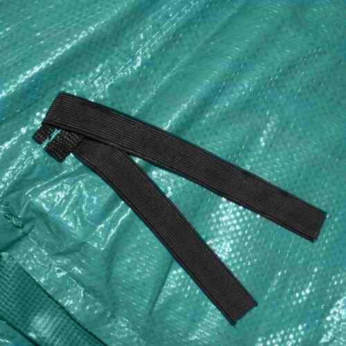 Randabdeckung Federabdeckung Randschutz in grün für Trampolin 335 bis 337 cm