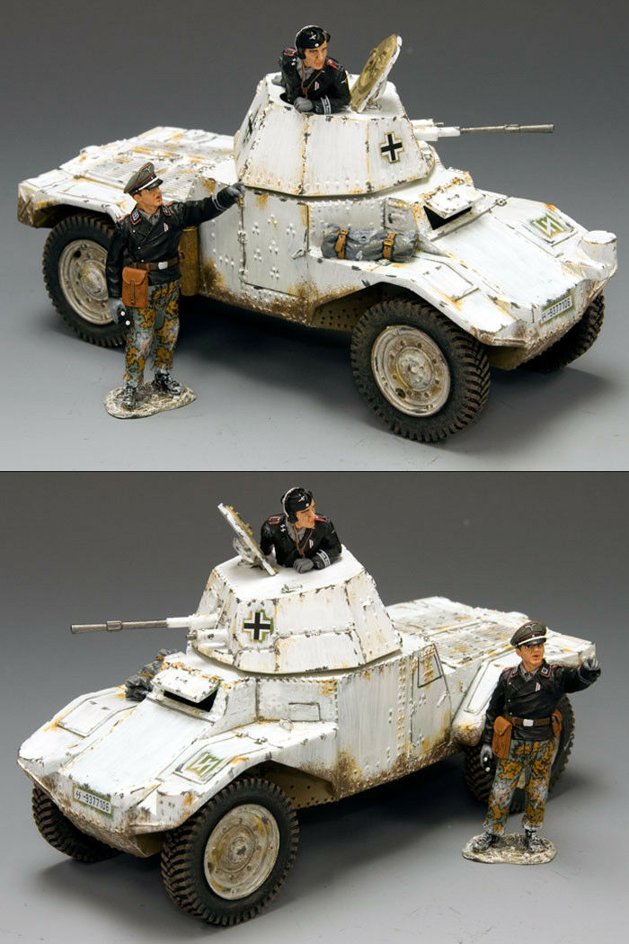 King and the State - ws195 - use Germany panhard Blind Vehicle (invierno version)